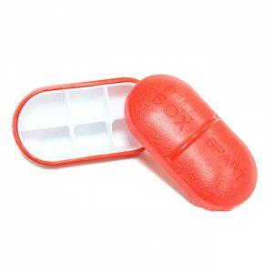 6 Compartment Pillbox