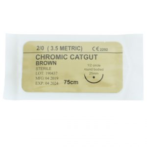 Absorbable Sutures- Chromic Catgut Suture