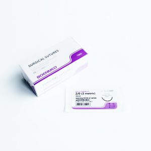 Absorbable Sutures- PGA (Polyglycolic Acid)