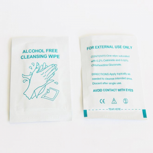 Alcohol Free Cleansing Wipe