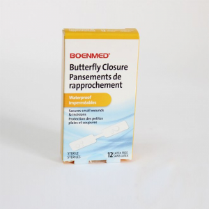 Butterfly Closure Adhesive Bandage